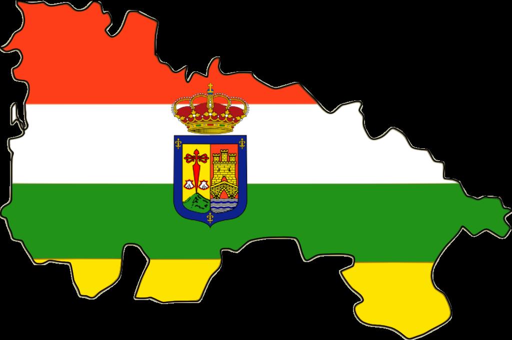 bandera escudo mapa la rioja